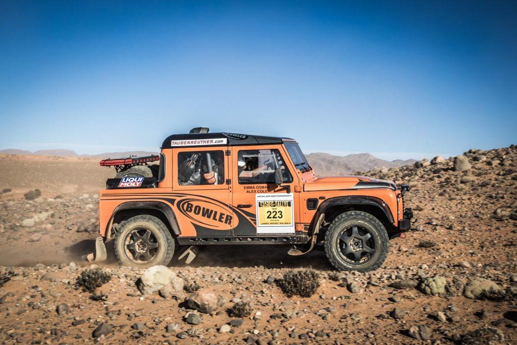 Succes voor Bowler in Tuareg Rallye, Broomans derde na problemen