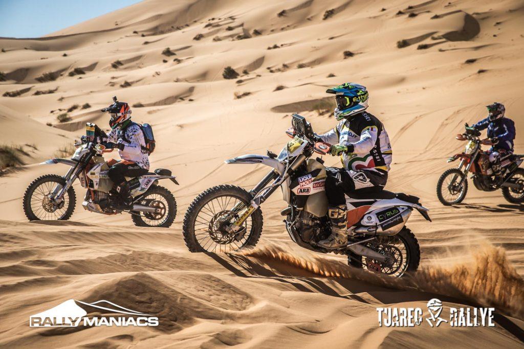 Algerijnen stelen de show op eerste dag Tuareg Rally