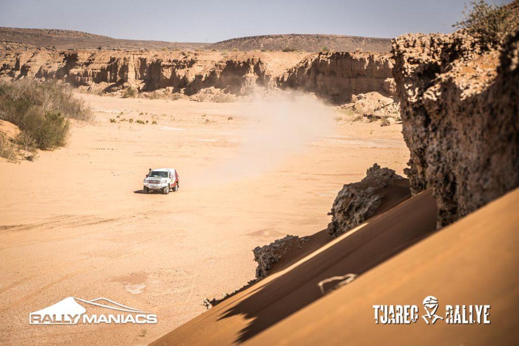 Tweede etappe Tuareg Rally slechts voor enkeling haalbaar