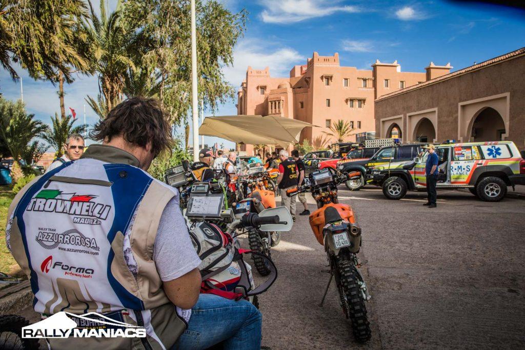 Deelnemers klaar voor Tuareg Rally 2016