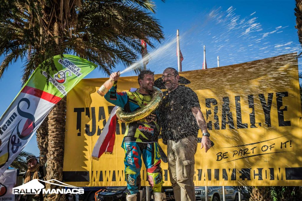 Tuareg Rally 2016: winst voor Verkade en Leeuw, Broomans tweede