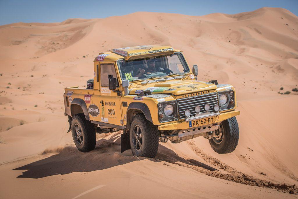 Dagzege voor Hofstra in koningsetappe Tuareg Rally