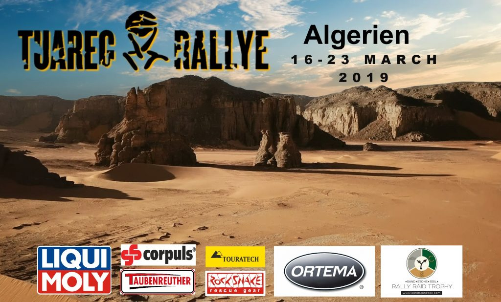 Vroegboekkorting Tuareg Rallye 2019 tot 1 november