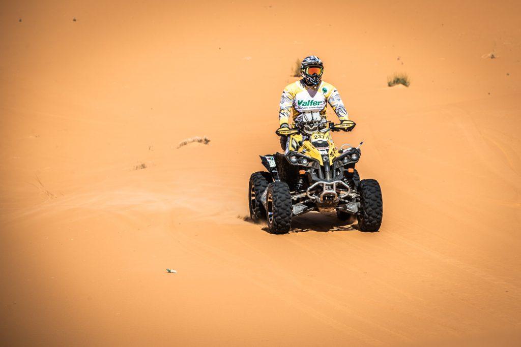 Italiaanse quadrijder om het leven gekomen in Tuareg Rally