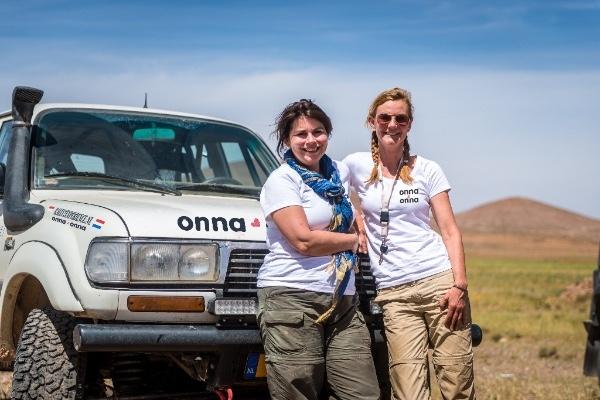 Wereldprimeur: Nederland heeft het eerste 'all-female' rallyteam