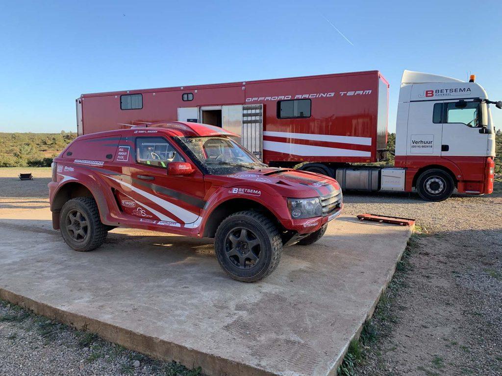 Fireant Rally Team van Jaap Betsema voor het eerst naar MDC