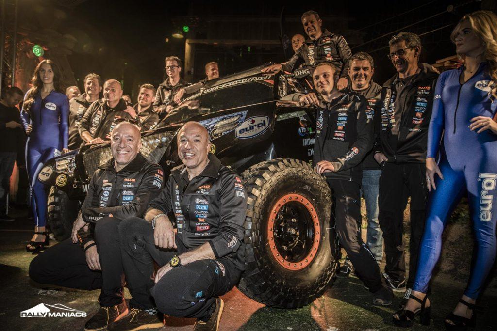 Tim & Tom Coronel klaar voor Dakar met hun 'Beast 3.0'