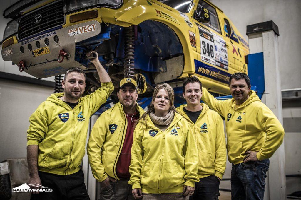 Van Ham Tenten & Podia Racing naar Tuareg Rally 2020
