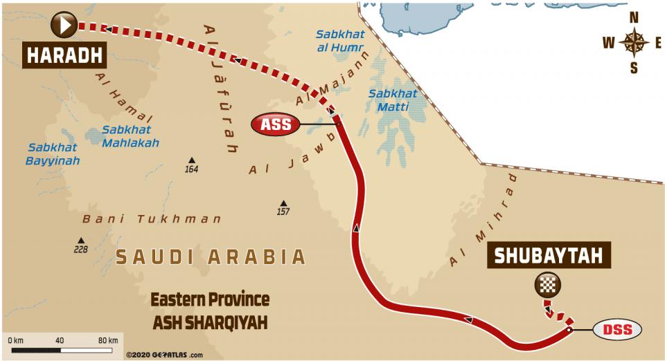 LIVE Dakar Rally 2020: Etappe 11 – Shubaytah – Haradh