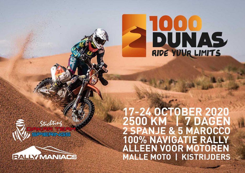 Presentatie 1000 Dunas Rally 20 februari a.s.