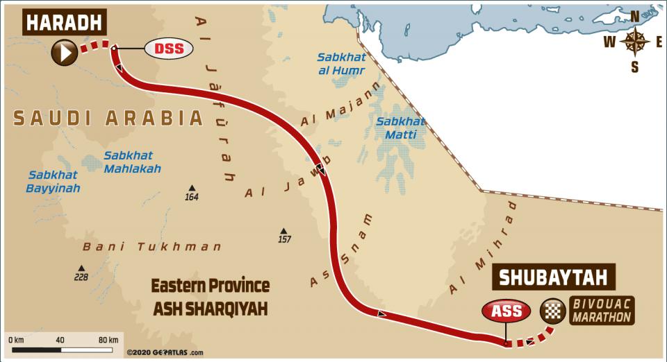 LIVE Dakar Rally 2020: Etappe 10 – Haradh – Shubaytah