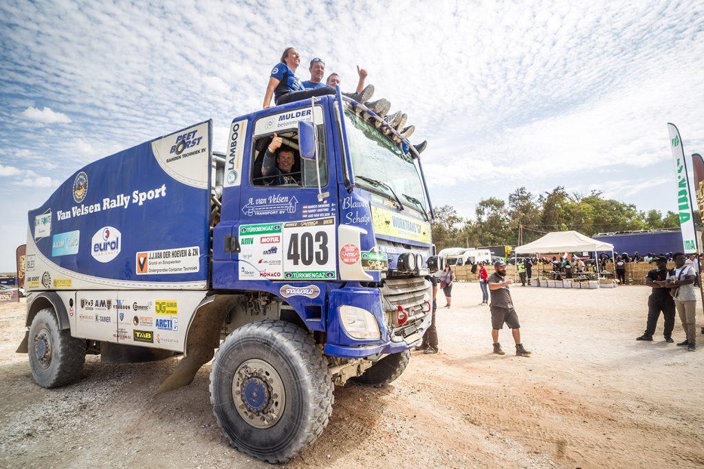 Van Velsen Rally Sport kijkt verder dan het Blauwe Schatje