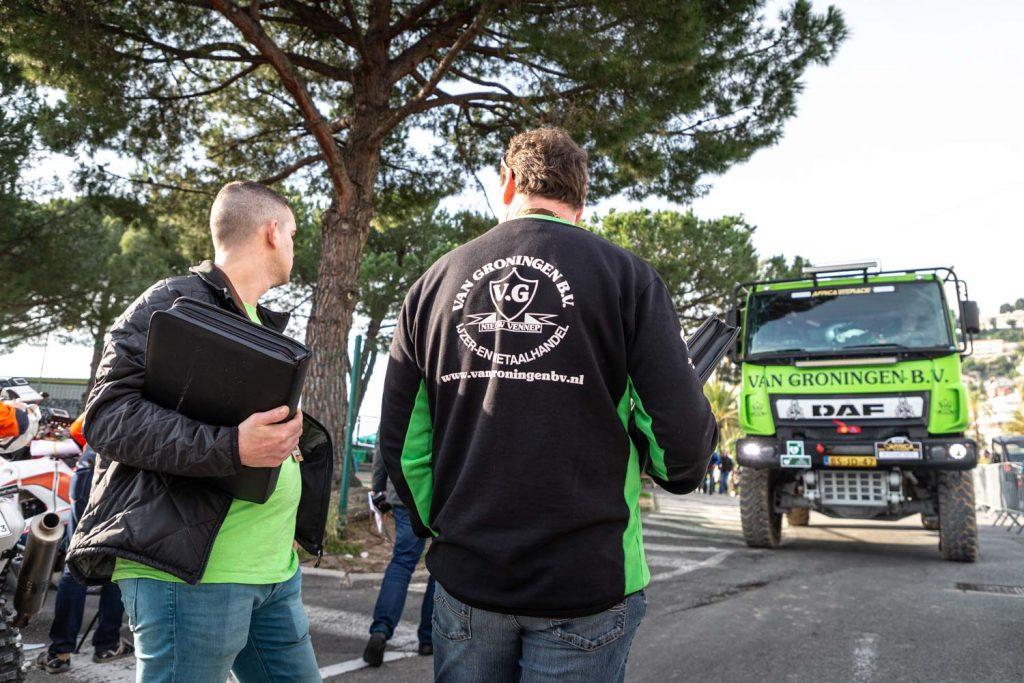Rally Team Dust Warriors goed voorbereid onderweg naar Marokko
