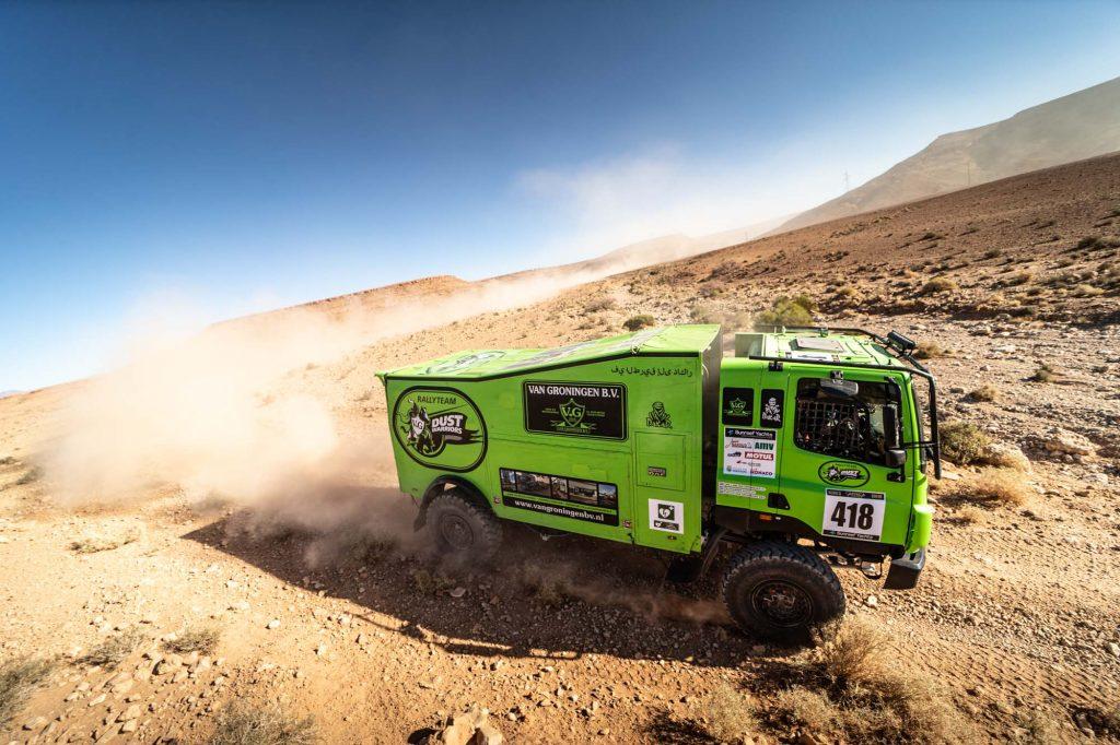 336 kilometer volle pijp voor Rally Team Dust Warriors