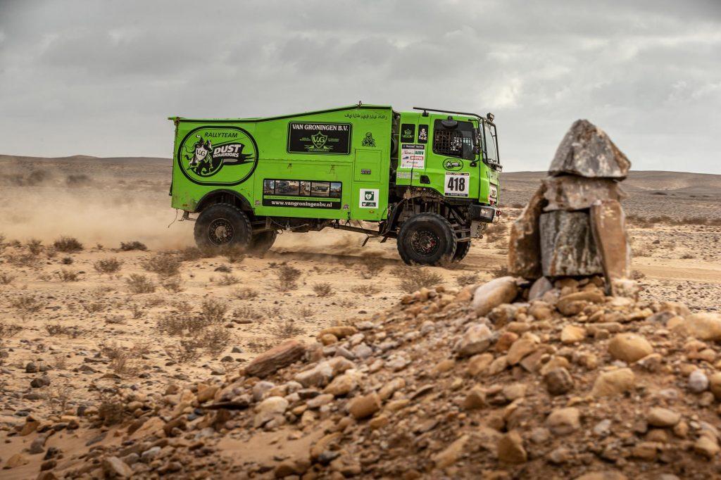 Dust Warriors klaar voor tweede week Africa Eco Race