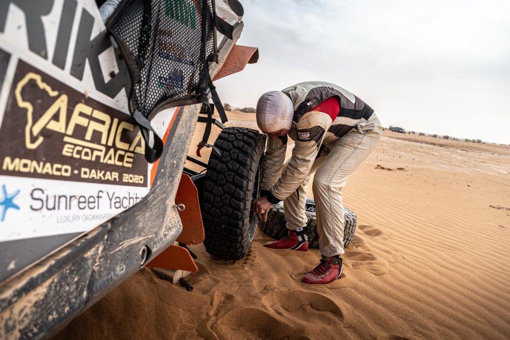 De meest intensieve dag van de Africa Eco Race
