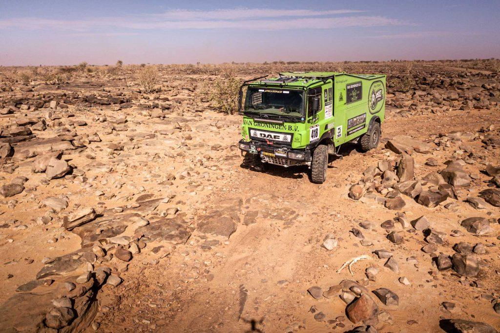 Lange dagen voor Rally Team Dust Warriors