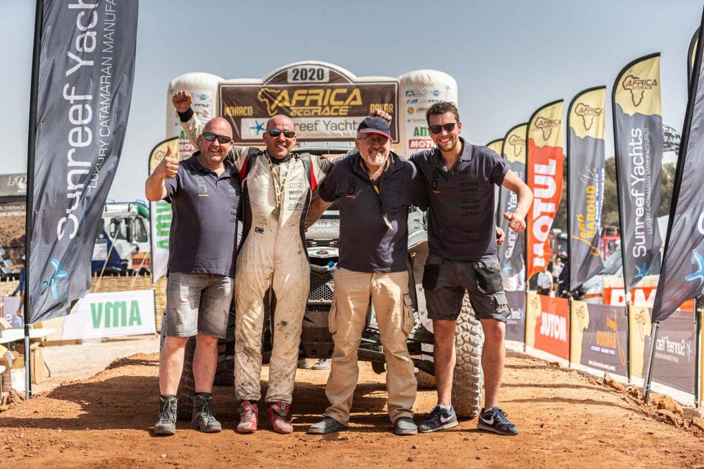 Sander Derikx wil ook in 2021 in Africa Eco Race starten
