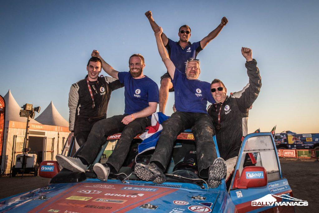 Schijf Rally Team : Rallycruiser van 4×4 Centrum Ermelo bewezen degelijk en betrouwbaar concept