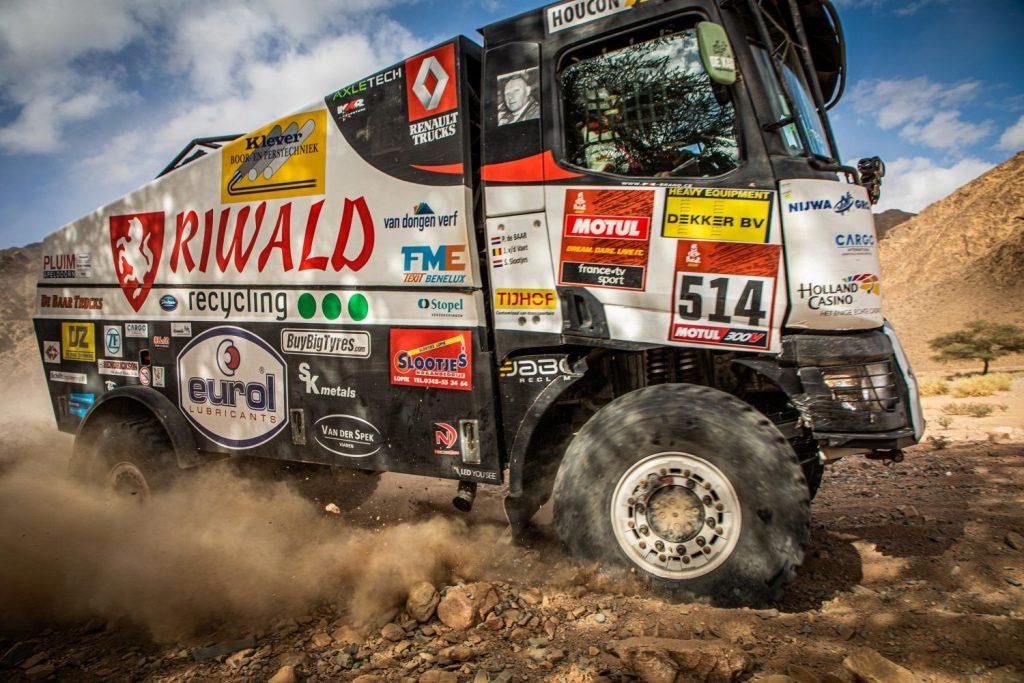 Eurol in Dakar: storm in de woestijn
