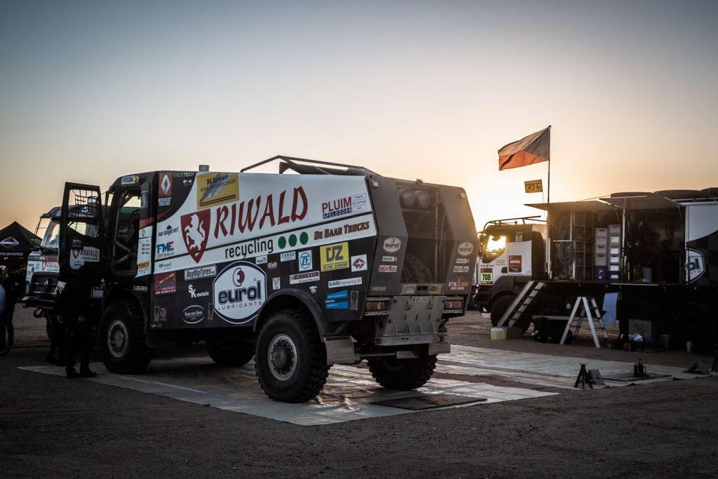 Eurol in Dakar: secondenspel op dag 9