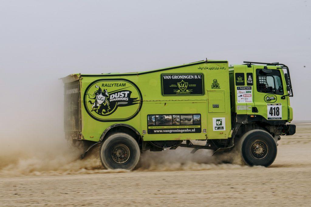 Dust Warriors brengen DAF weer op vol vermogen