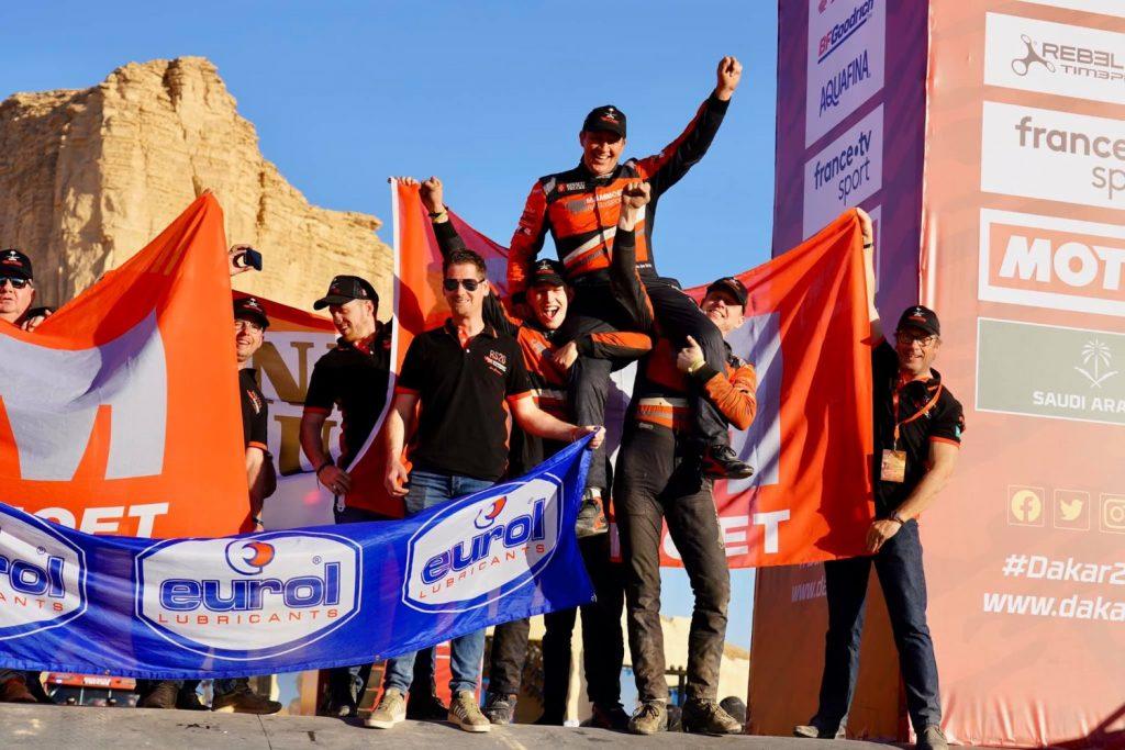 Mammoet Rallysport: finish gehaald en medailles ophalen