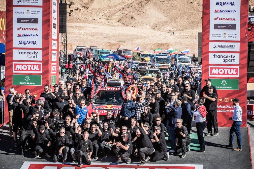 Dakar 2020: Carlos Sainz wint op ervaring
