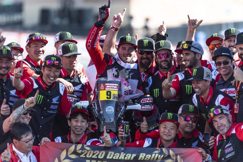 Dakar 2020: Ricky Brabec en Honda breken 18-jarige dominantie KTM