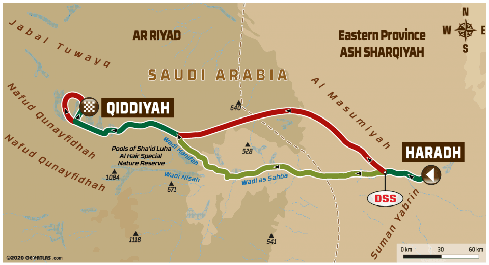 LIVE Dakar Rally 2020: Etappe 12 – Haradh – Qiddiya