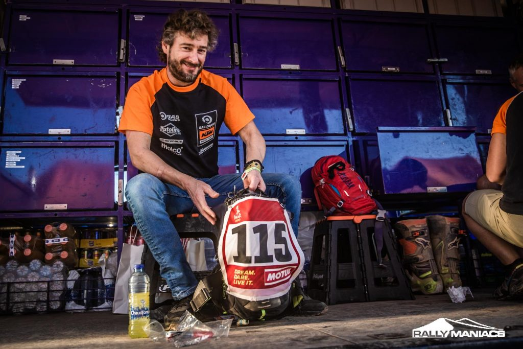 Olaf Harmsen nog niet klaar met Dakar