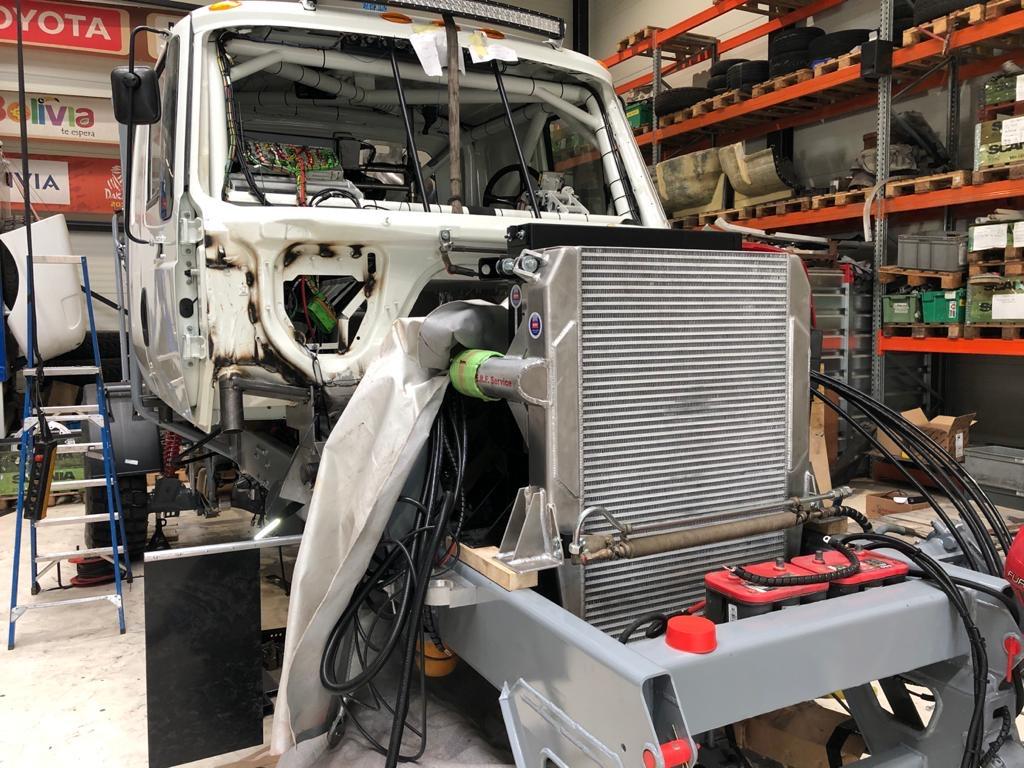 DakarSpeed op schema voor MDC met bouw nieuwe truck