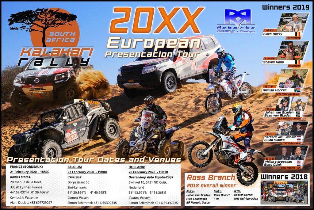 Presentatie Kalahari Rally 2020 28 februari a.s.
