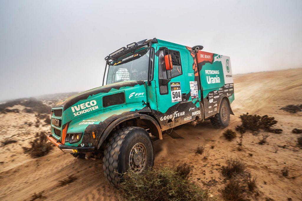 Team De Rooy met drie trucks naar de MDC