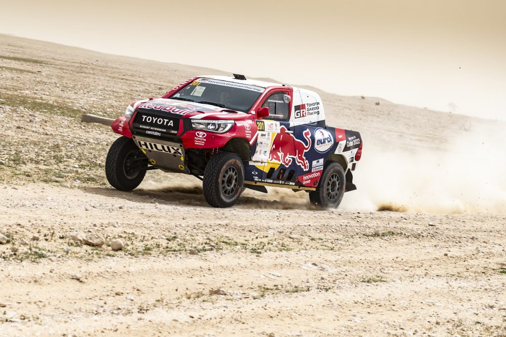 Al-Attiyah blijft in controle op vierde dag Qatar Cross-Country Rally