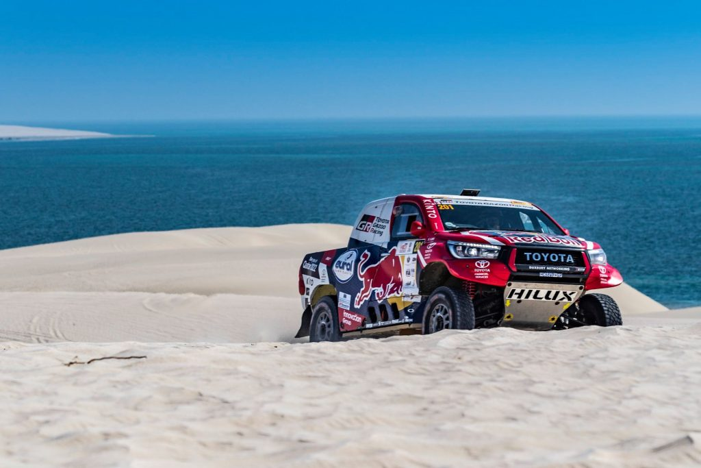 Derde dag in de Qatar Cross-Country Rally
