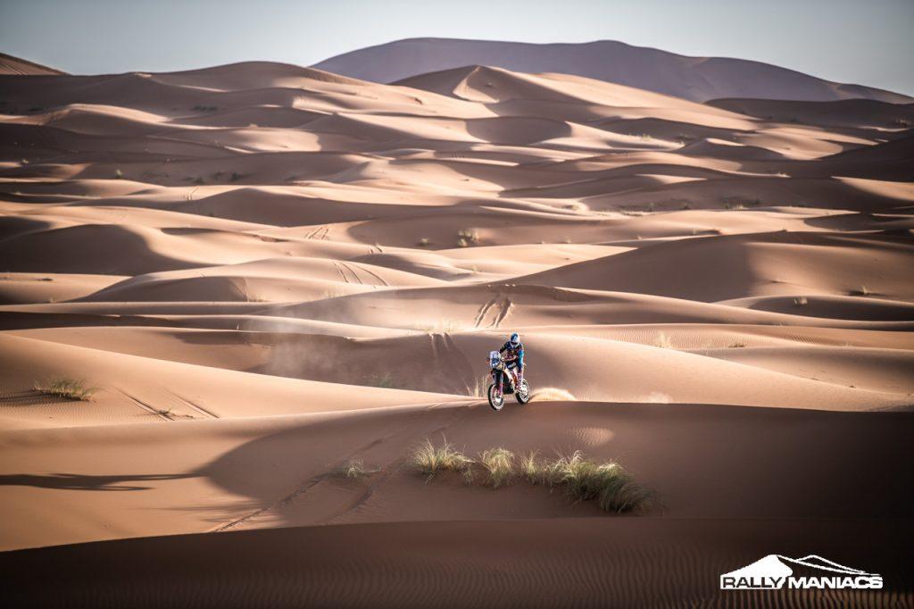 Rallye du Maroc 2020 past zich aan, introductie digitaal roadbook