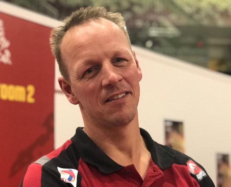 Mark Laan nieuwe navigator Firemen Dakarteam
