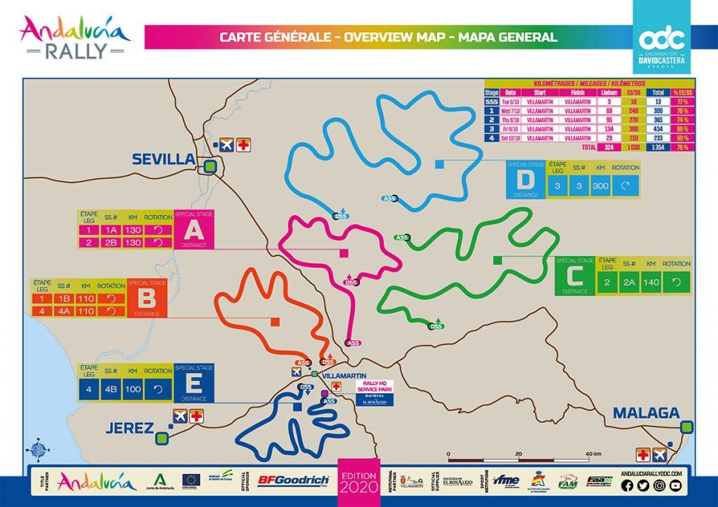 Eerste editie Andalucia Rally: meer details bekend