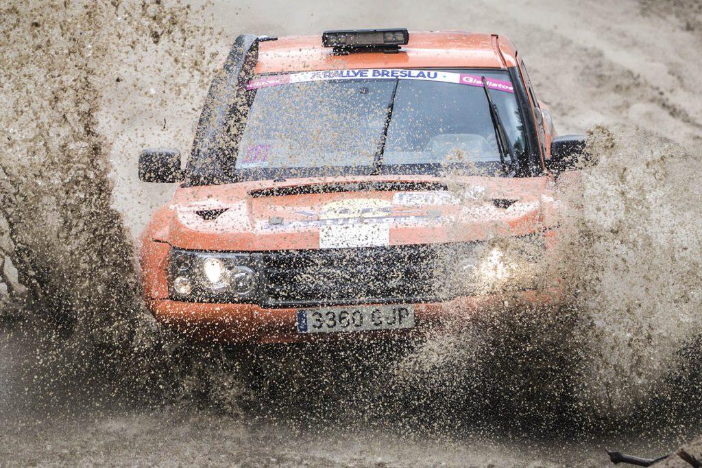 Herman Jasper wil weer op het podium finishen in de Breslau Rallye