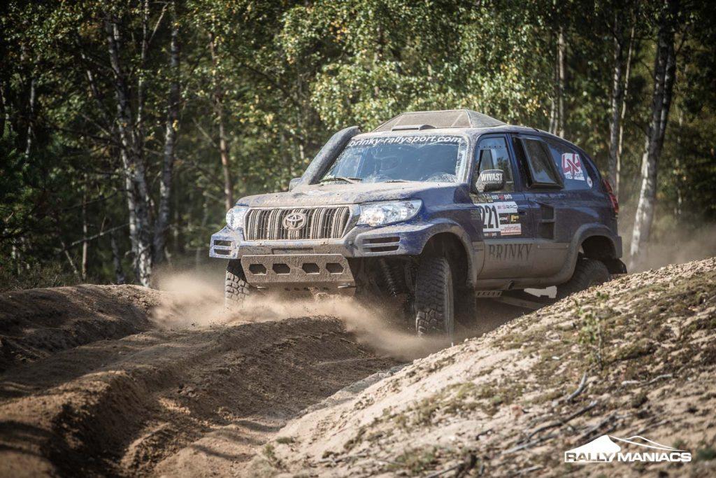 Spierings en Van den Brink zegevieren op tweede dag Breslau Rallye
