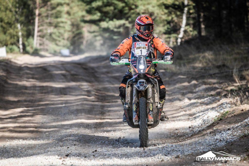 Pol kent moeilijke vierde dag in Breslau Rallye