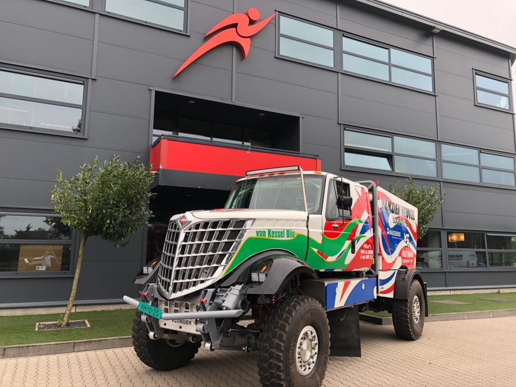 Dakarspeed met nieuwe truck naar Dakar 2021