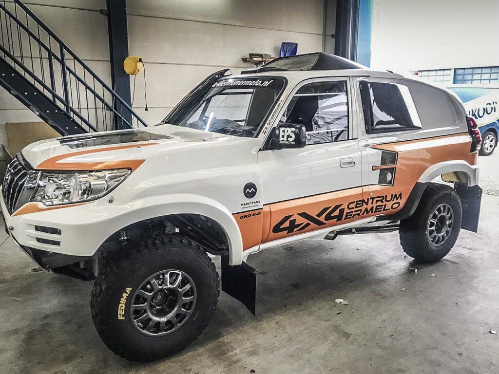 Ronald Schoolderman met nieuwe auto naar Breslau Rally