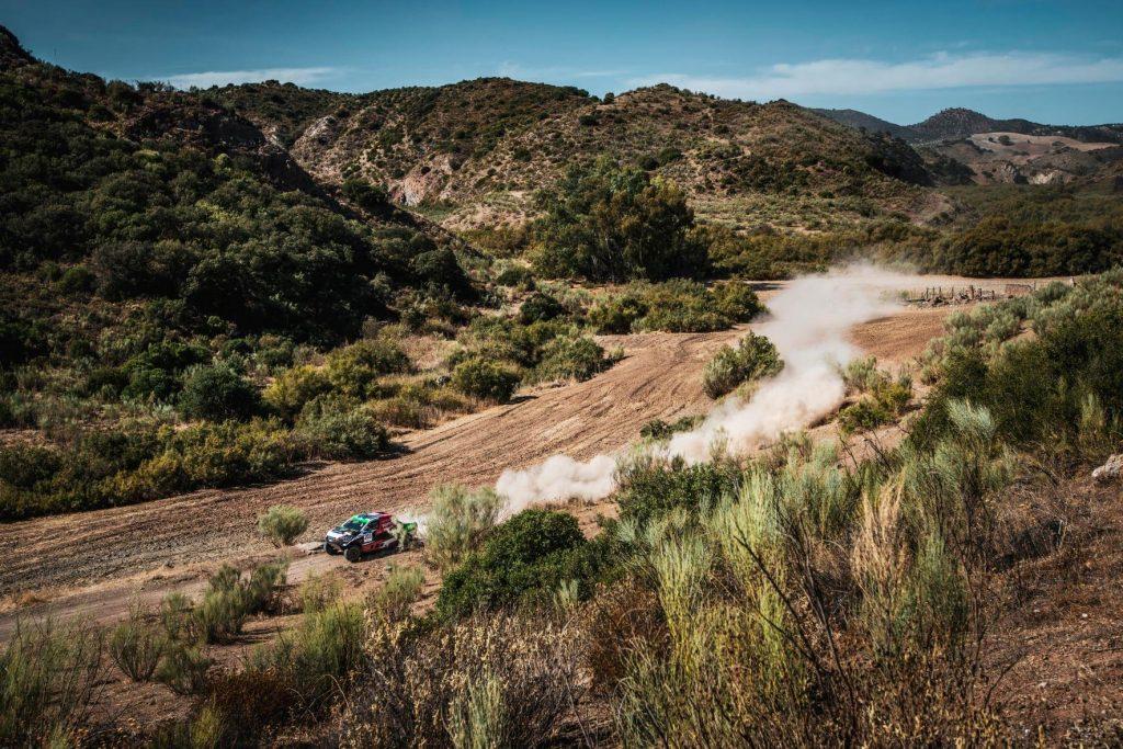 Andalucia Rally: Barreda en wederom Al Rahji pakken dagzege