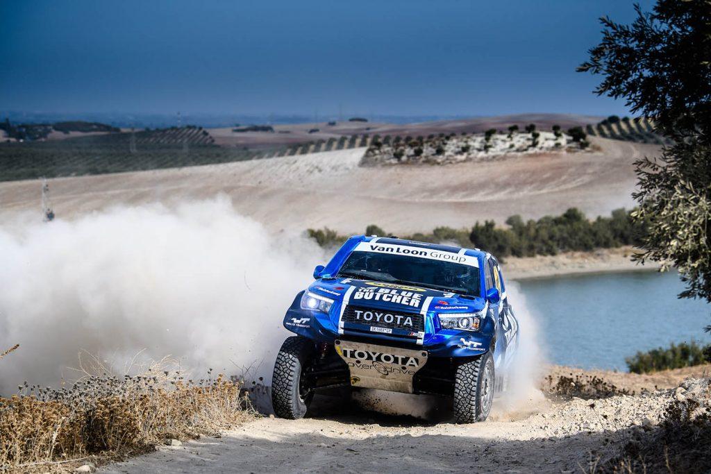 Andalucia Rally: Van Loon tevreden met de zevende tijd op eerste dag