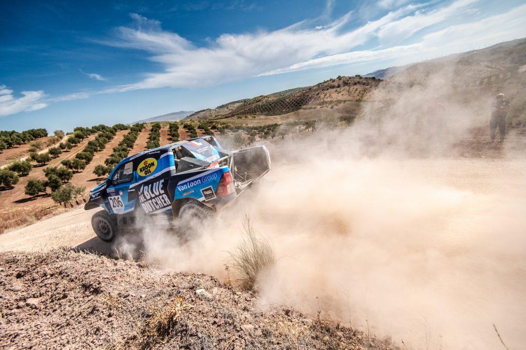 Andalucia Rally: Van Loon houdt zicht op de top vijf in Spanje