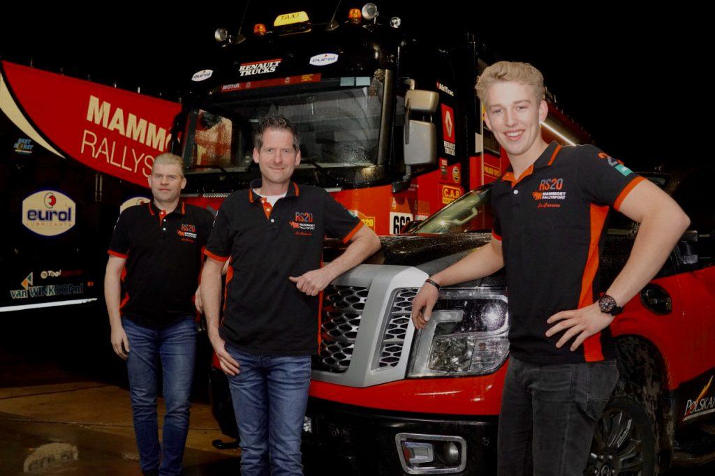 Mitchel van den Brink snelle assistent Mammoet Rallysport in Dakar Rally
