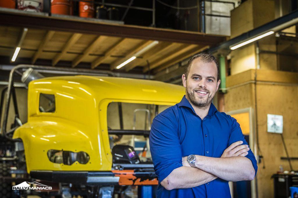 Fried van de Laar Racing bouwt nieuwe truck