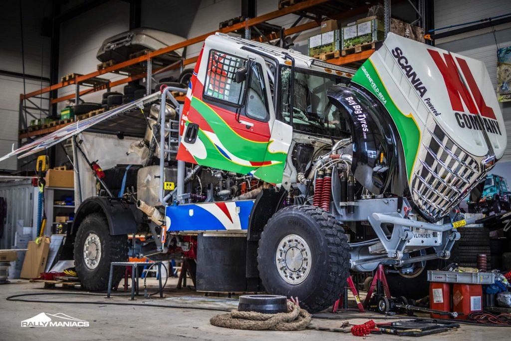 Dakar 2021: Doel is de top vijf voor Dakarspeed